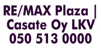 RE/MAX Plaza | Casate Oy LKV