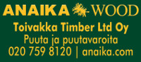 Anaika Wood Group Ltd Oy / Toivakka Timber Ltd Oy