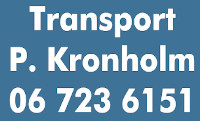 Transport P. Kronholm